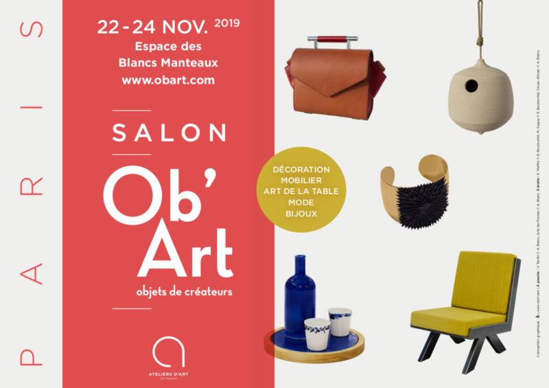 Le salon Ob'Art Paris salon d'objets de créateurs