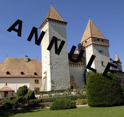 chateau de SARRAZ